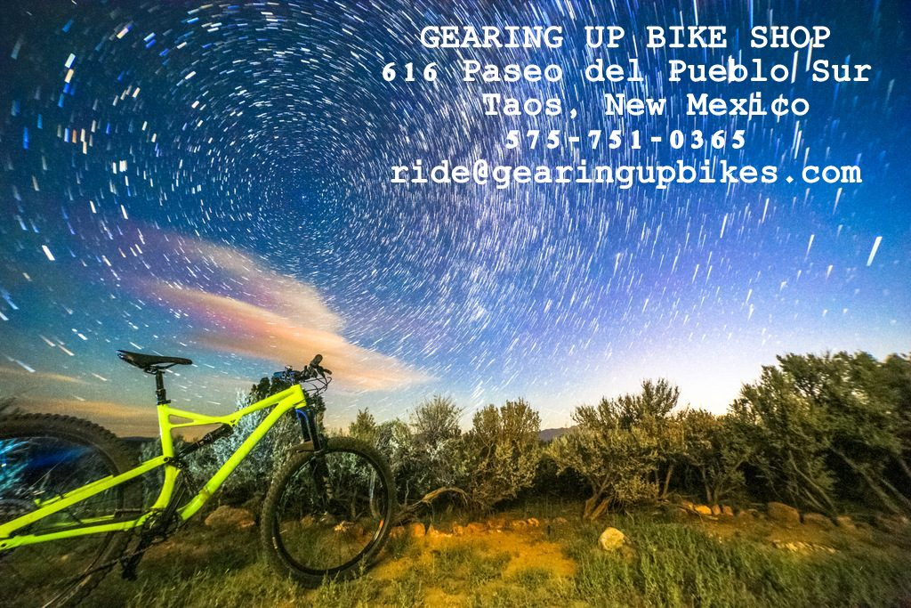 Gearing Up Bike Shop / Taos